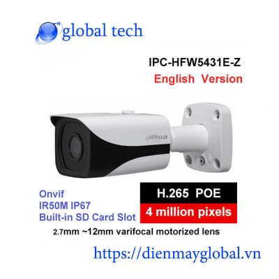 Camera Dahua DH-IPC-HFW5431E-Z