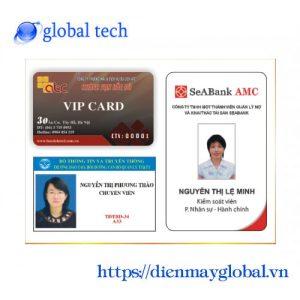 In thẻ nhân viên thẻ chấm công