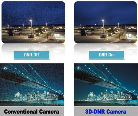 Mổ tả tính năng chống nhiễu DNR