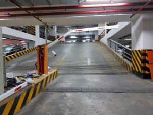 Barrier cần gập thích hợp cho không gian hẹp