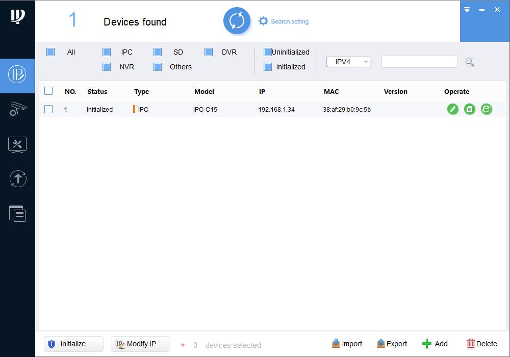 Phần mềm config tool - hướng dẫn kết nối camera wifi Dahua
