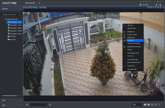 Chụp ảnh màn hình qua phần mềm