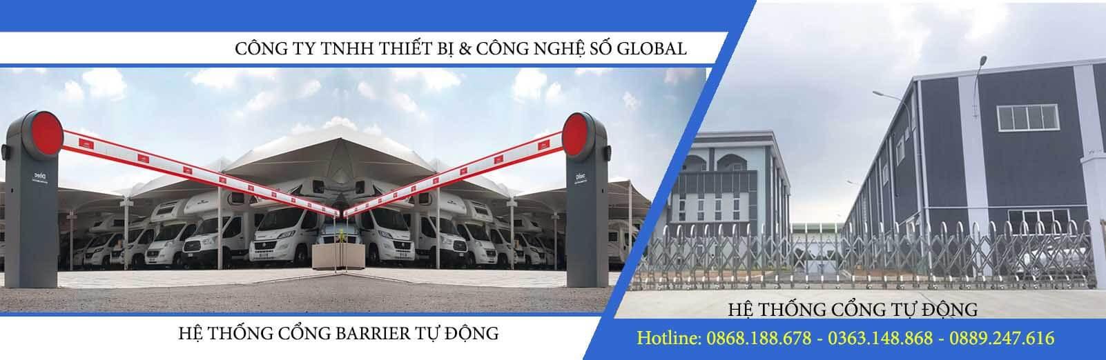 Barrier tự động - Công ty TNHH thiết bị và công nghệ số Global
