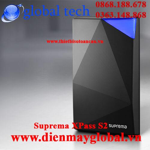 Đầu đọc thẻ Suprema Xpass S2