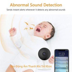 Cảnh báo âm thanh camera wifi IPC-C22EP-imou