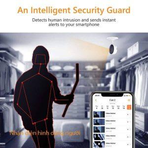 Báo động xâm nhập camera wifi IPC-C22Ep-imou