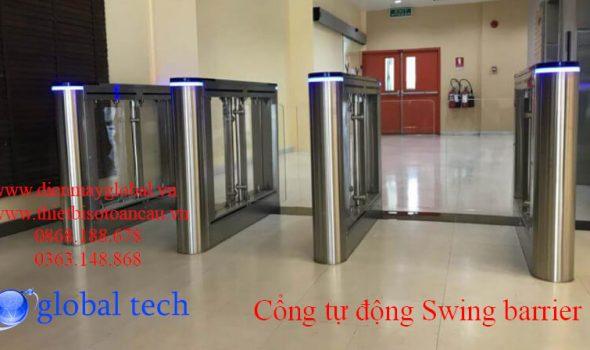 Cổng tự động swing barrier