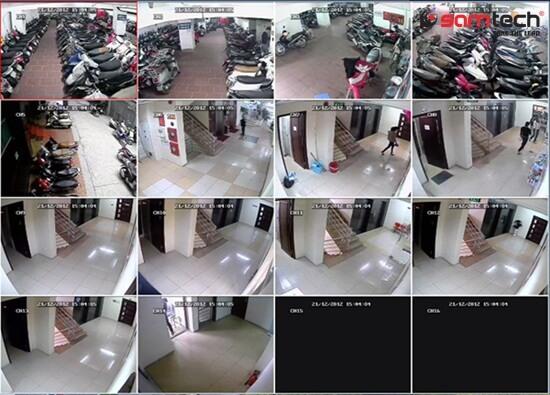 Camera lắp đặt cho chung cư