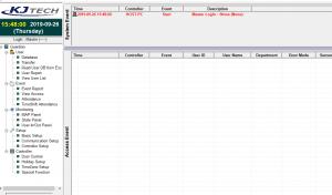Phần mềm máy chấm công KJTech