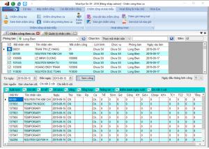 Báo cáo excel trên phần mềm
