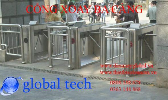 cổng xoay 3 càng tripod turnstile