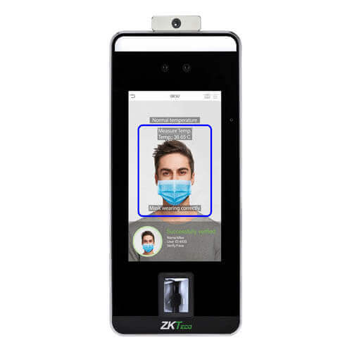 Thiết bị nhận diện khuôn mặt Zkteco Speed Face V5L