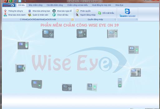 SĐK phần mềm chấm công Wise eye on39